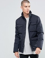 Armani Jeans Field Jacket With 4 Pockets Water Repellent