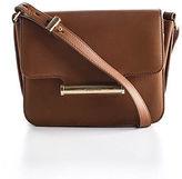 Jason Wu Brown Leather Gold Tone Diane Crossbody Handbag 90053329