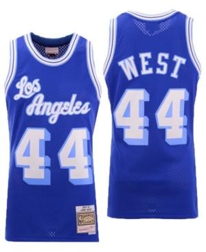 Mitchell & Ness Men's Jerry West Los Angeles Lakers Hardwood Classic Swingman Jersey