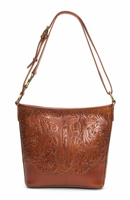 Frye Melissa Artisan Small Hobo Crossbody