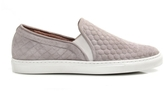 Tabitha Simmons Huntington Quilted Suede Slip-On Sneakers