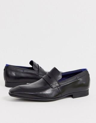 Ted Baker gaelah loafers in black