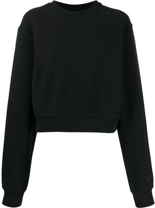 Reebok x Victoria Beckham Cropped Sweatshirt