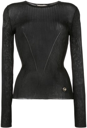 Emilio Pucci Ribbed Knit Top