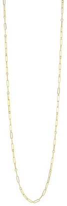 """Roberto Coin 18K Yellow Gold Oval-Link Long Necklace/33"""""""