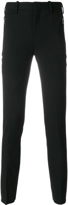 Neil Barrett Rib Detailed Skinny Trousers