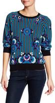 Anna Sui Pop-Sydelic Print Pullover Sweater