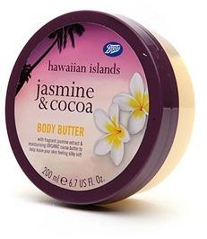 Boots Hawaiian Islands Body Butter, Jasmine & Cocoa