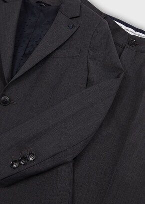 Emporio Armani Pure Virgin Wool, Single-Breasted Suit