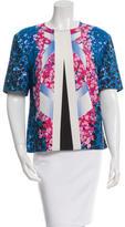 Peter Pilotto Floral Print Short Sleeve Top