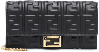 Fendi Baguette Continental leather wallet