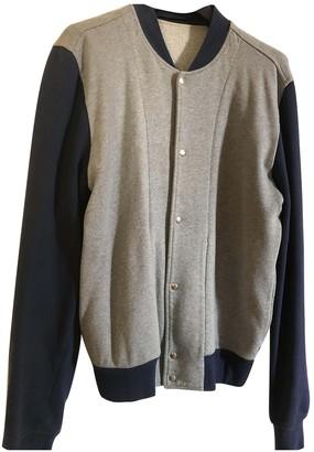 Christian Dior Grey Cotton Knitwear & Sweatshirts