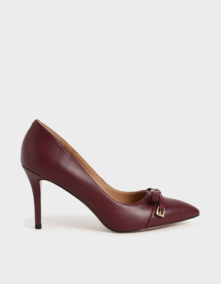 Charles & Keith Bow Stiletto Pumps