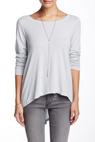 Michael Stars Boatneck Split Back Tee