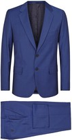 Paul Smith Mayfair Blue Wool Blend Suit