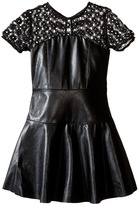 Ella Moss Mckenzie Faux Leather Dress (Big Kids)