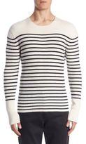 Vince Slim-Fit Bretton Striped Cashmere Sweater
