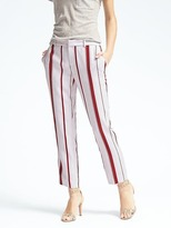 Banana Republic Avery-Fit Stripe Pant