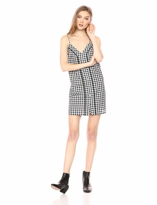 The Fifth Label Women's Idyllic Gingham Sleeveless Slip Dress