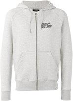 Ron Dorff - Discipline Small Print hoodie - men - Cotton/Spandex/Elastane - S