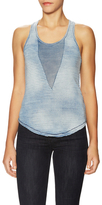 Joe's Jeans Kensa Cotton Stripe Racerback Tank Top