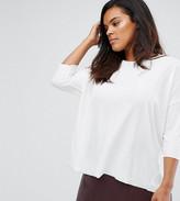 Junarose 3/4 Sleeve Relaxed Jersey Top