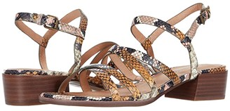 Madewell Natty Skinny Strap Sandal (Forgotten Petal Multi) Women's Shoes