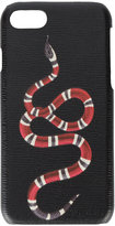 Gucci snake iPhone 7 case - men - Leather - One Size