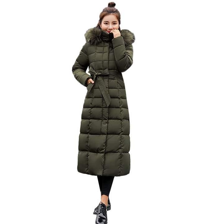 80eb02eee PENATE Women's Down Jackets PENATE Women's Slim Down Jacket Girls Winter  Warm Long Plush Hooded Cotton Coat