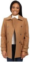 Pendleton Petite Double-Breasted Coat
