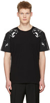 Valentino Black Two Panthers T-shirt