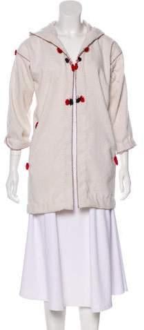 Etoile Isabel Marant Open Front Hooded Jacket