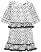 Trixxi Girl's Tiered Lace Dress