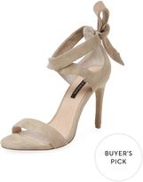 Ava & Aiden Women's Bow Back High Heel Sandal
