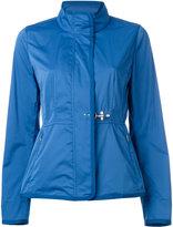 Fay roll neck raincoat