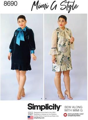 Simplicity Mimi G Style Women's Dress Sewing Pattern, 8690