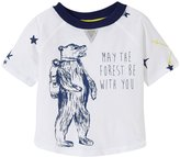 Egg by Susan Lazar Graphic Tee with Back Detail (Baby) - White - 18 Months