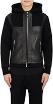 Neil Barrett Men's Combo Biker Jacket
