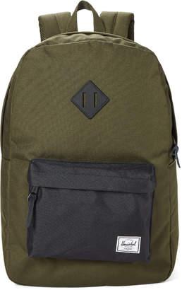 Herschel Forest & Black Heritage Backpack