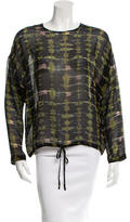 Christian Wijnants Printed Long Sleeve Blouse