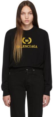 Balenciaga Black BB Sweater