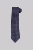 Savoy Taylors Guild Navy & Sky Geo Silk Tie
