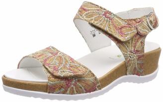 Waldläufer Women's Hilda Sling Back Sandals Multicolour (Kork-Bute Multi 299) 8 UK