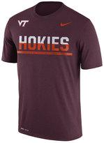 Nike Men's Virginia Tech Hokies Legend Staff Sideline T-Shirt