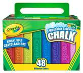 Crayola Sidewalk Chalk Washable 48ct