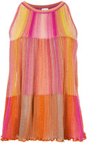 M Missoni colour block top - women - Cotton/Viscose/Metallic Fibre/Polyimide - 40