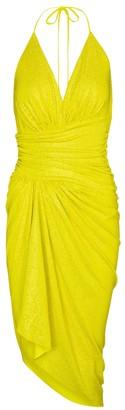 Alexandre Vauthier Embellished stretch-jersey minidress