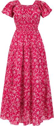 Pink City Prints - Rah Rah Ruby Wallflower Dress - Small