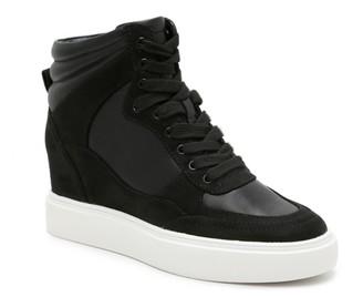 Jlo Jennifer Lopez Blakely High-Top Wedge Sneaker