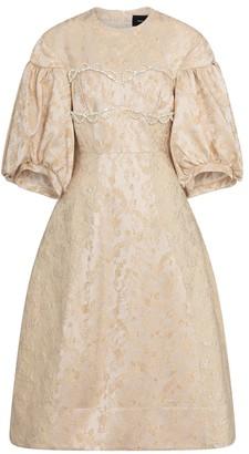 Simone Rocha Embellished midi dress